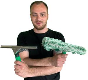 Joey maakt reinigt graag uw dakkapel!